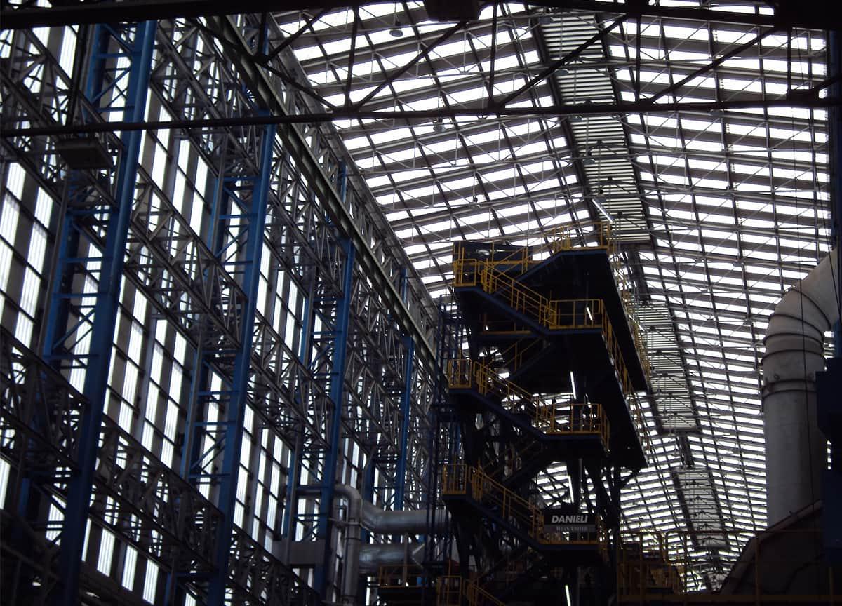 Ventilatori Unilab per la ventilazione naturale installati in copertura